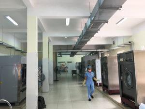 Sửa chữa máy giặt công nghiệp tại bệnh viện Hà Nội