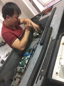 Sửa chữa mạch máy giặt công nghiệp Fagor