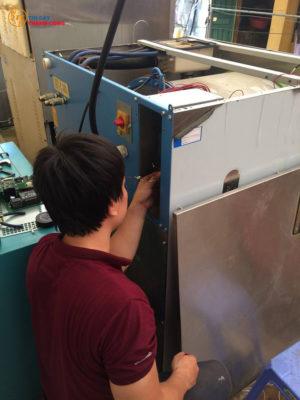 Thay thế vòng bi máy giặt công nghiệp tại Sơn La